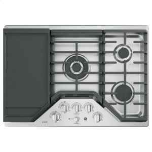 "GE CafeSeries 30"" Built-In Gas Cooktop"