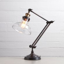 Oil Rubbed Bronze Finish Percy Desk Lamp