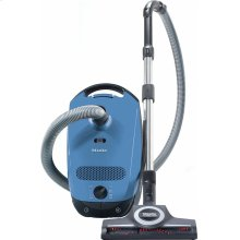 Classic C1 Turbo Team PowerLine - SBAN0 canister vacuum cleaners with turbo brush for hard floor and low, medium-pile carpeting.