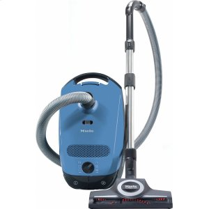 MieleClassic C1 Turbo Team PowerLine - SBAN0 canister vacuum cleaners with turbo brush for hard floor and low, medium-pile carpeting.