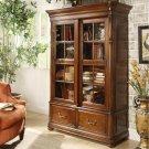 Bristol Court - Sliding Door Bookcase - Cognac Cherry Finish Product Image