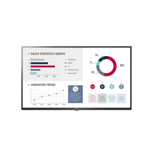 "LG Electronics50"" UL3G-B Series LCD UHD Commercial Display Monitor with Built-in Quad Core SoC, webOS 4.0 Smart Signage Platform, Crestron & Cisco compatible & built-in speaker"