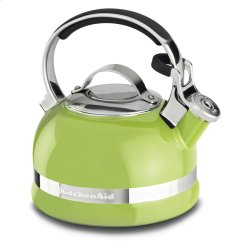 2.0-Quart Kettle with Full Stainless Steel Handle and Trim Band - Sunkissed Lime