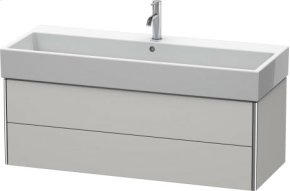 Vanity Unit Wall-mounted, Nordic White Satin Matt Lacquer