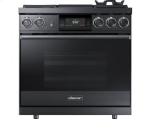 """36"""" Pro Dual-Fuel Steam Range, Stainless Steel, Natural Gas"""
