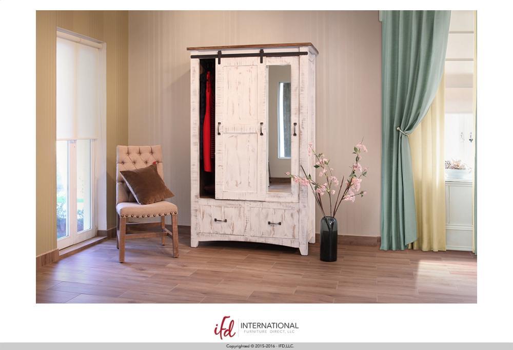 2 Drawer 1 Sliding door 1 Door Armoire & IFD360ARMOIRE in by International Furniture Direct in Okeechobee ... Pezcame.Com