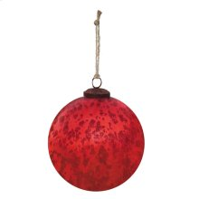 "6"" Classic Red Ball Ornament"