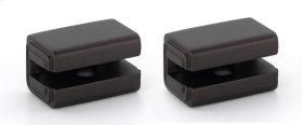 Cube Shelf Brackets A6550 - Chocolate Bronze