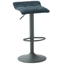 Pluto Air Lift Stool, set of 2, in Blue-Grey