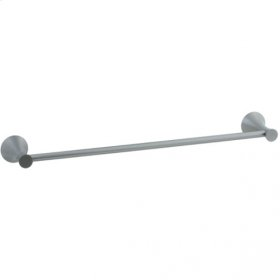 """Brookhaven - Towel Bar With Crown Posts 30"""" - Brushed Nickel"""