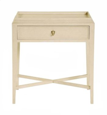 Salon Nightstand in Salon Alabaster (341) Product Image