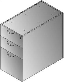 """Napa 30""""d Desk Pedestal, Box/box/file"""
