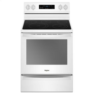 6.4 cu. ft. Freestanding Electric Range with Frozen Bake Technology - WHITE