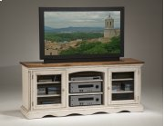 Wilshire Entertainment Console Antique White Product Image