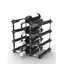 Epicureanist Snap and Stack Modular Wine Rack