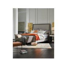 L'Arc King Upholstered King Bed