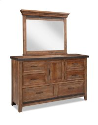 Taos Six Drawer Dresser w/Door Product Image
