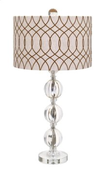 BF Avena Acrylic and Crystal Table Lamp