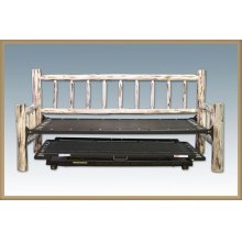 Montana Log Day Bed with Trundle