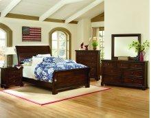 Sleigh Bed (Full)