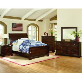 Sleigh Bed (Full)