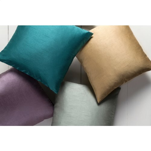 "Solid Luxe HH-031 22"" x 22"" Pillow Shell with Polyester Insert"