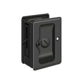 "HD Pocket Lock, Adjustable, 3 1/4""x 2 1/4"" Privacy - Oil-rubbed Bronze"