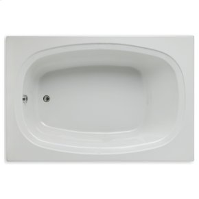 "Easy-Clean High Gloss Acrylic Surface, Rectangular, Soaking Bathtub, 48"" x 72"""