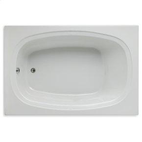 """Easy-Clean High Gloss Acrylic Surface, Rectangular, Microsilk® Bathtub, 48"""" X 72"""""""