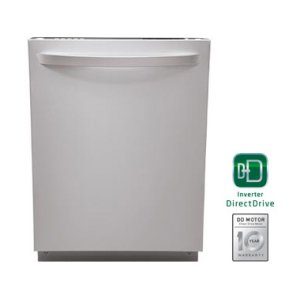 Fully Integrated Dishwasher with Hidden Controls