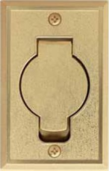 Brass Wall Inlet - DISCONTINUED