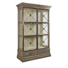 Xander Glass Door Bookcase