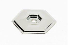 Nicole Backplate A426 - Polished Nickel