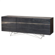 Zola Sideboard  Ebonized