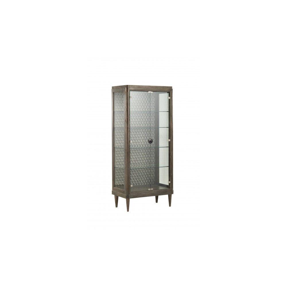Geode Agate Curio Cabinet