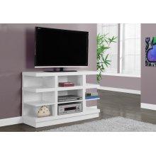 "TV STAND - 48""L / WHITE"