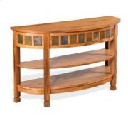 Sedona Curved Entry/TV Console Product Image