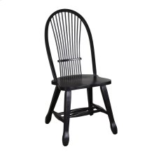 Sheaf Back Side Chair - Black