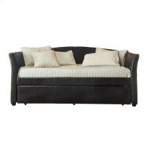 Daybed with Trundle, Dark Brown P/U