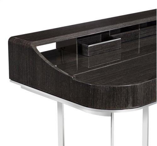 Lyra Desk - Smoked Grey Oak