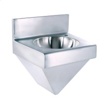 Noah's Collection Commercial Series single bowl wall mount, commercial wash basin.