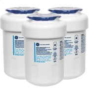GE® MWF REFRIGERATOR WATER FILTER 3-PACK Product Image