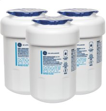 GE® MWF REFRIGERATOR WATER FILTER 3-PACK