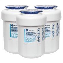 GE® MWF REFRIGERATOR WATER FILTER 3-PACK