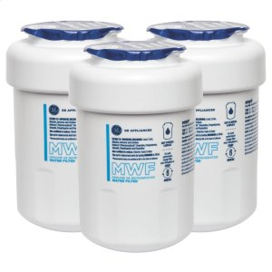 GE®MWF REFRIGERATOR WATER FILTER 3-PACK