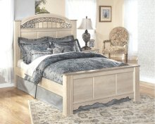 Catalina - Antique White 3 Piece Bed Set (King)