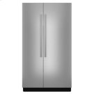"""NOIR 48"""" Fully Integrated Built-In Side-by-Side Refrigerator Panel-Kit Product Image"""