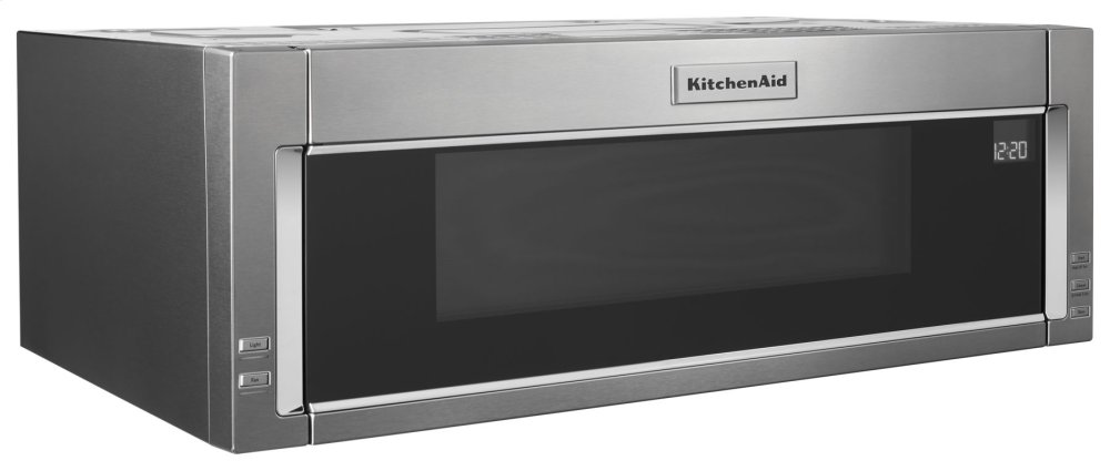 kmls311hss kitchenaid 1000 watt low profile microwave hood combination stainless steel. Black Bedroom Furniture Sets. Home Design Ideas