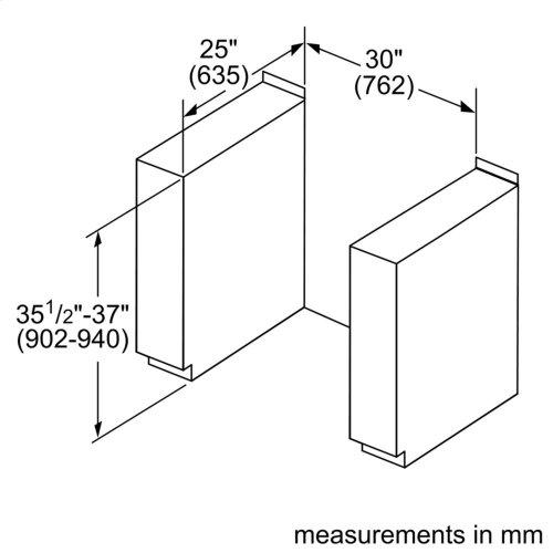 Benchmark® Electric Slide-in Range 30'' Stainless steel