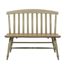 Slat Back Bench